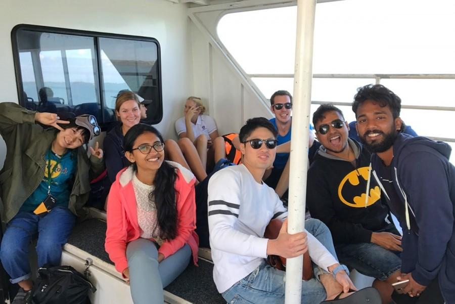 ノース・ストラドブローク島までのウォータータクシー
