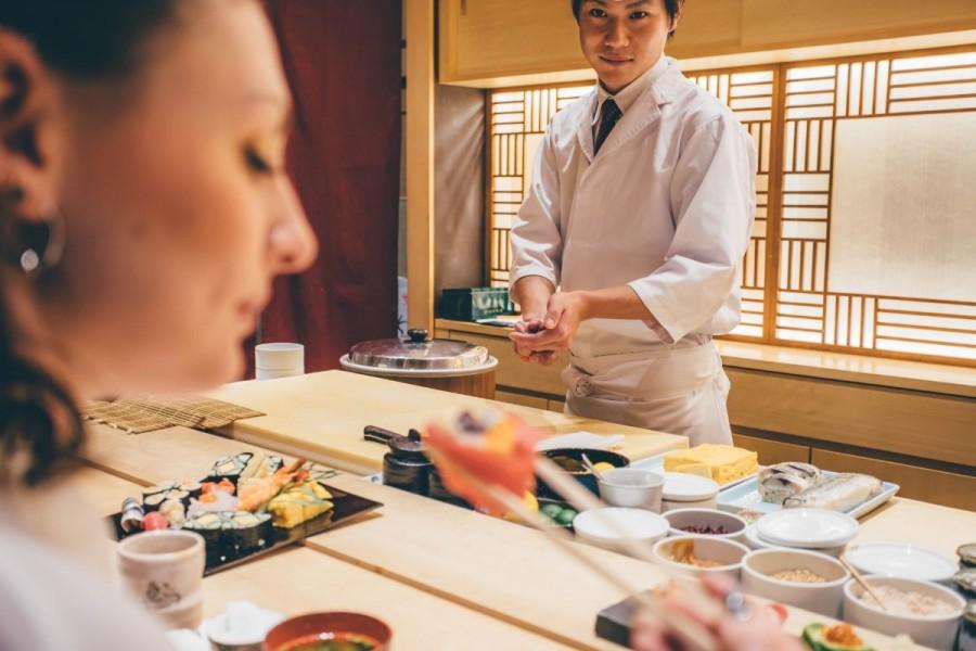 軍艦巻き寿司