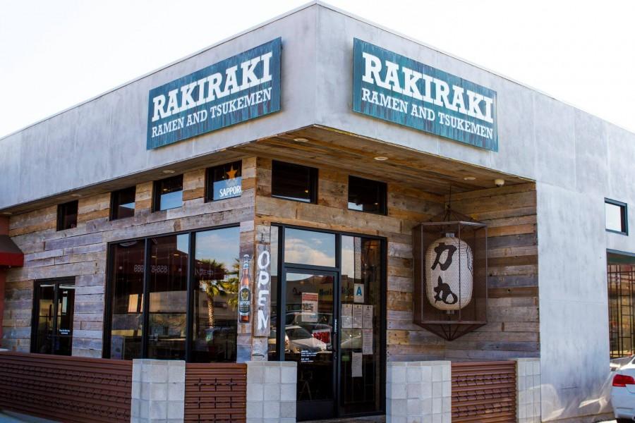サンディエゴ レストラン Rakiraki Ramen & Tsukemen(ラキラキ・ラーメン&つけ麺)