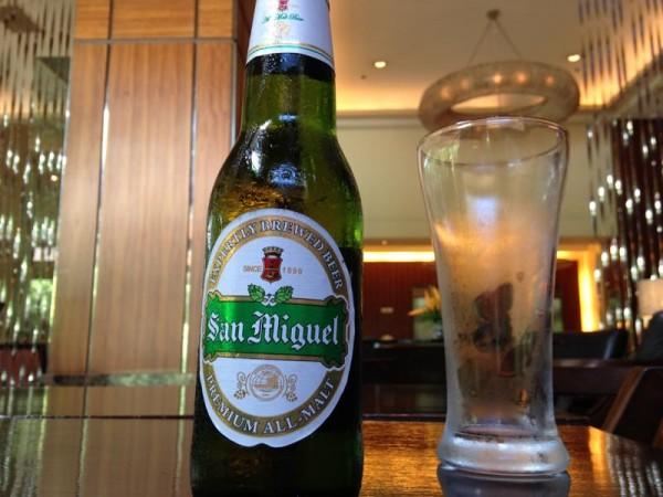 フィリピンのビール サンミゲル プレミアムモルツ