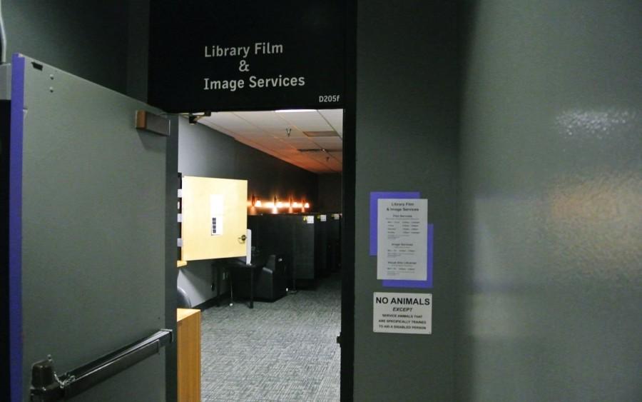 大学のフィルムライブラリ