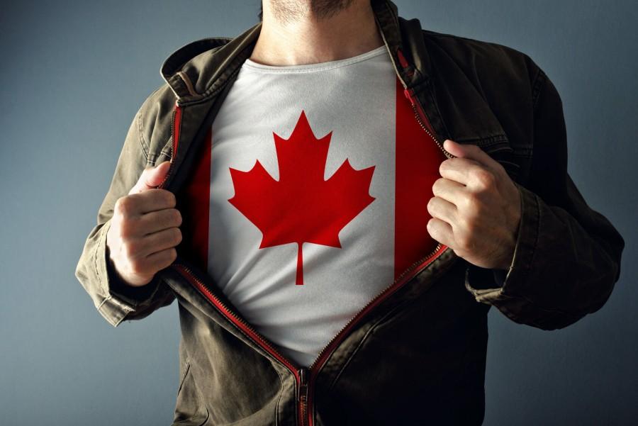カナダTシャツ