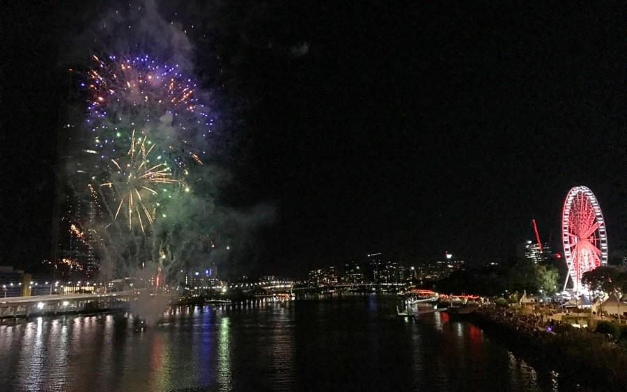 ブリスベンのブッダフェスティバル、フィナーレの花火