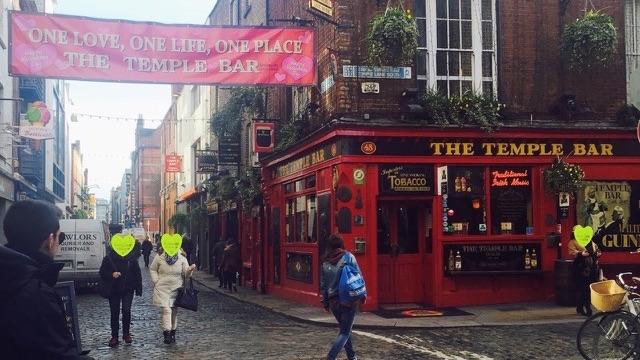 アイルランド、ダブリンのテンプル・バー