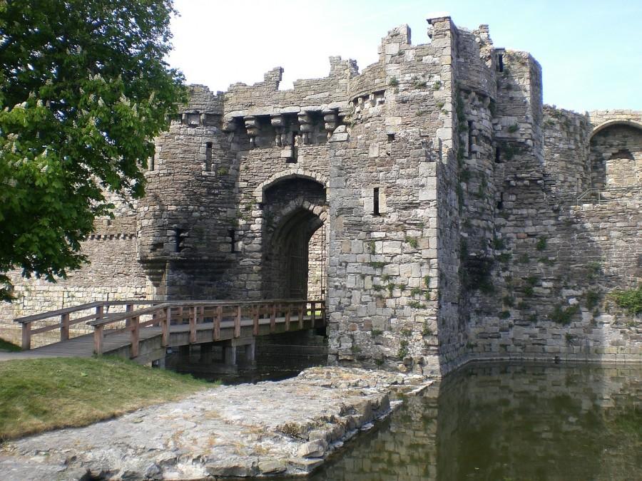 グウィネズのエドワード1世の城郭と市壁