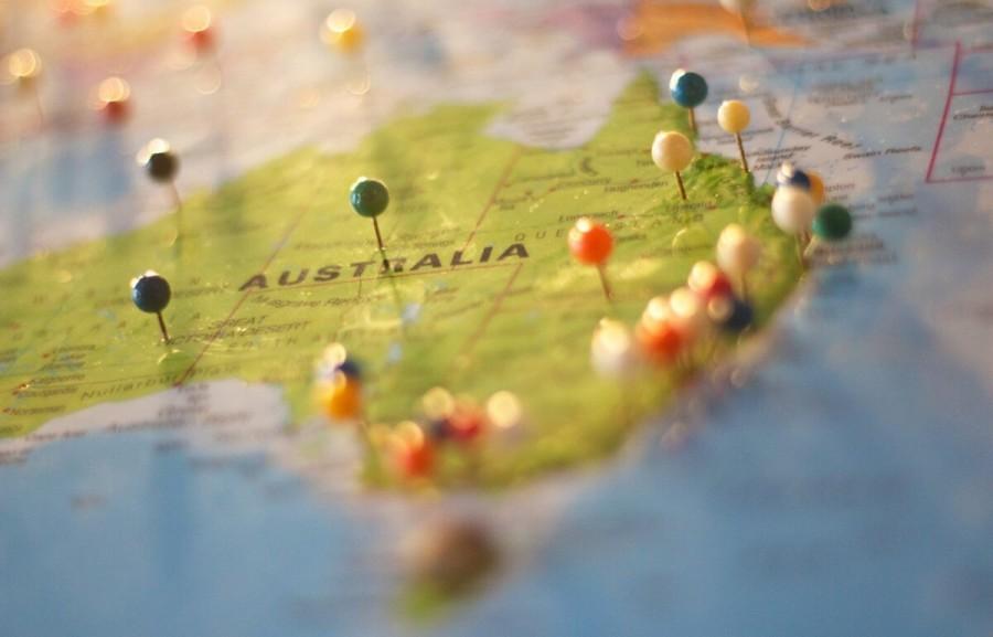 オーストラリア 物価 地球儀