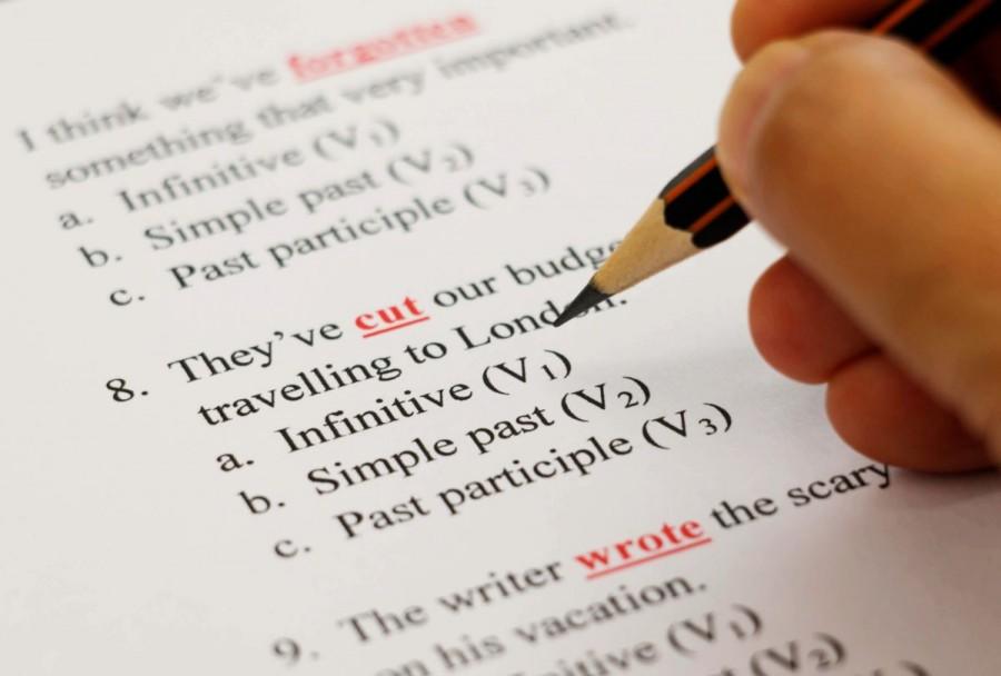 留学 勉強 英文法