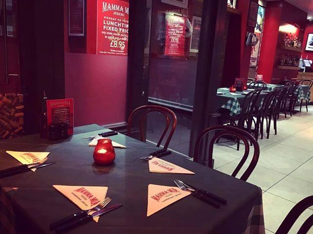 オックスフォード レストラン Mamma Mia Pizzeria(マンマ ミーア ピッザリア)