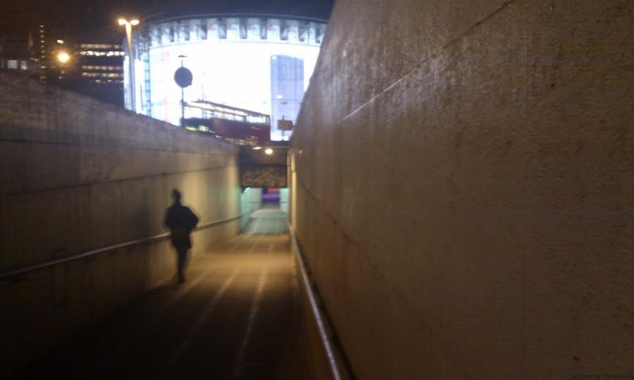 イギリスの治安 地下道(Subway)