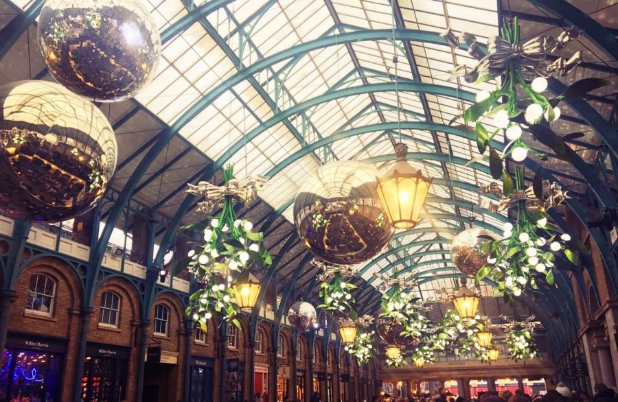 Covent Gardenのクリスマスの装飾