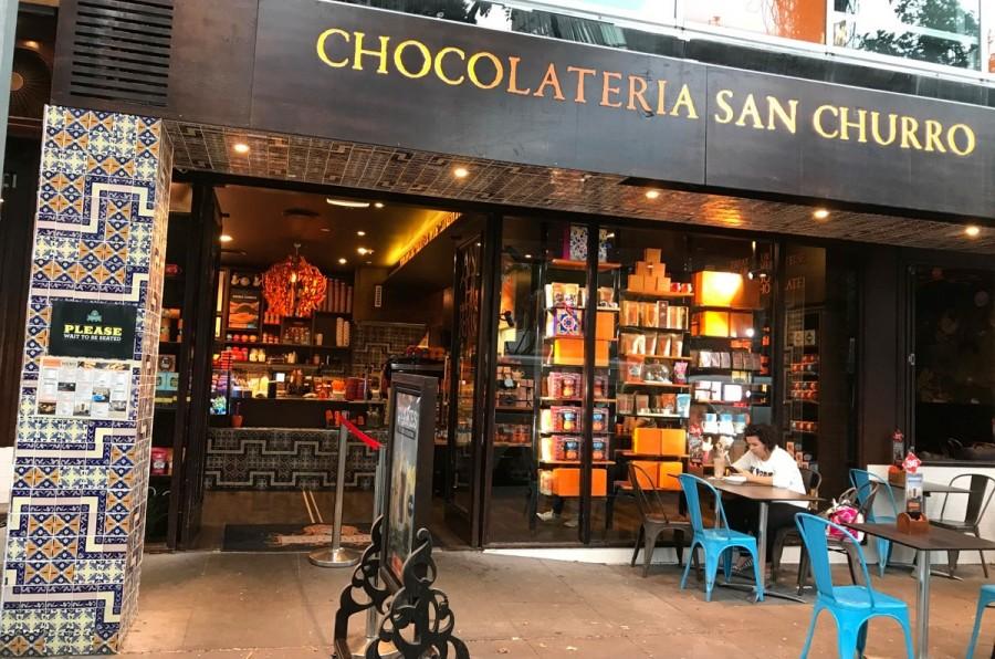 チュロスと魅惑のチョコディップ SAN CHURRO CHOCOLATERIA