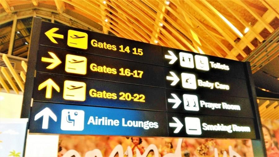 カナダの空港