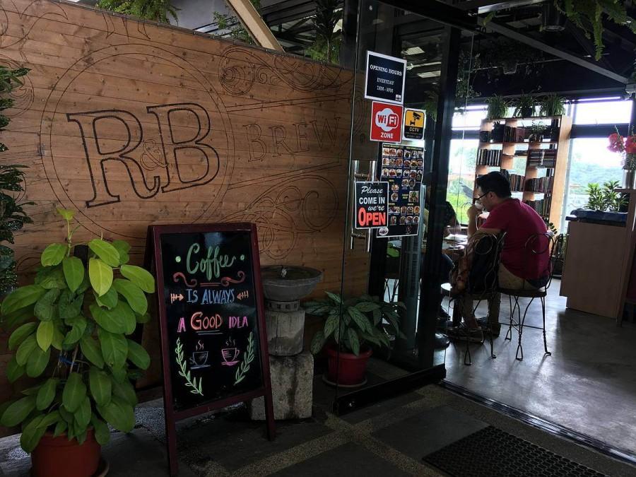 フィリピン バギオ カフェ