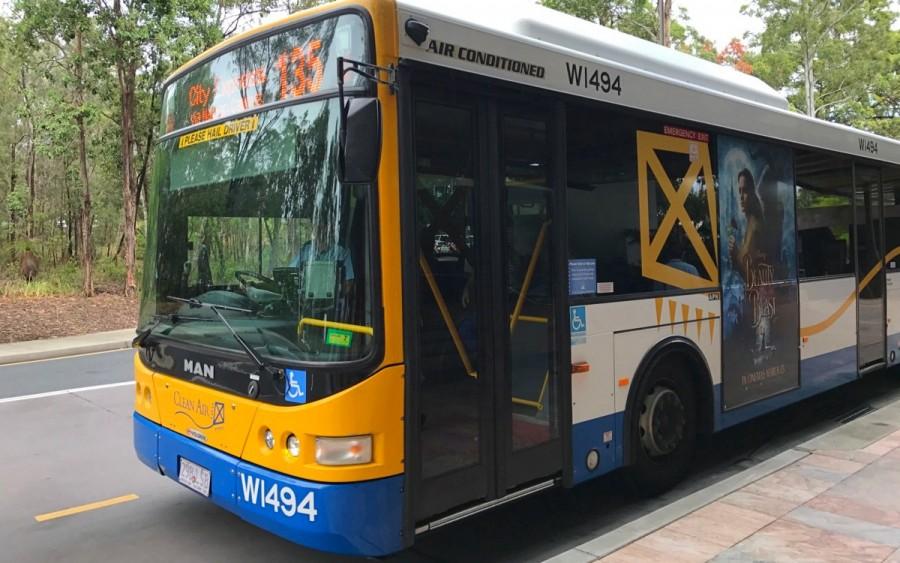 ブリスベン市内のバス
