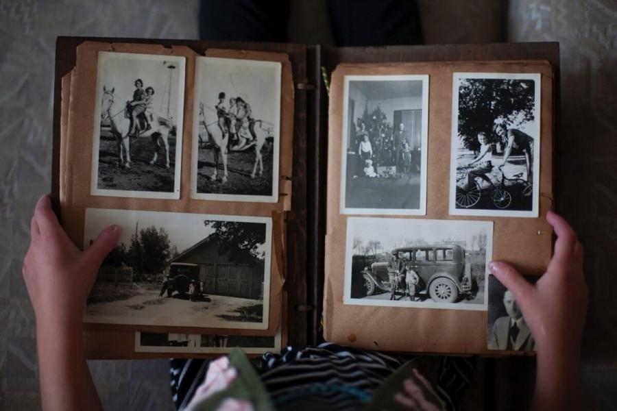 オーストラリア 留学 プレゼント 手紙や写真を詰めたアルバム