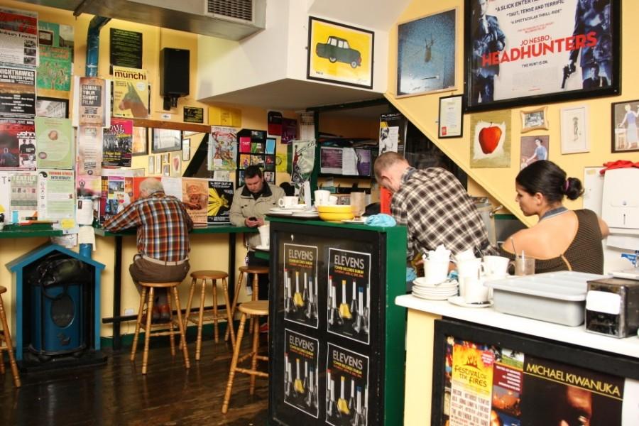 ダブリン カフェ Simon's Place(サイモンズプレイス)