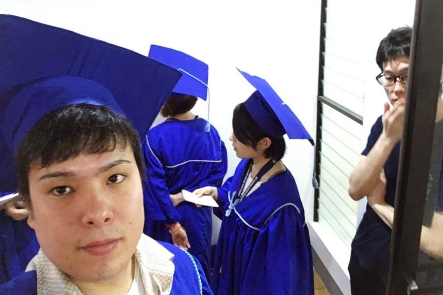 セブ島留学での卒業式の様子
