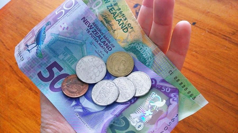 ニュージーランドの小銭