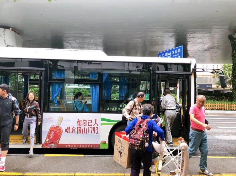 バスで見た光景
