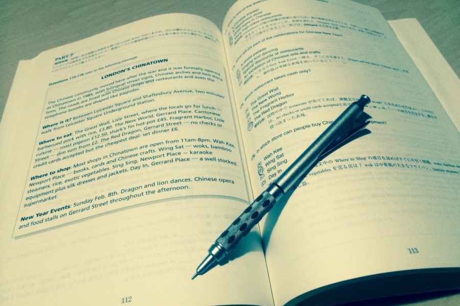 留学前の英語学習