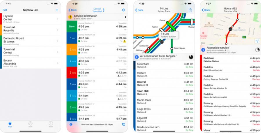 シドニー バス アプリ