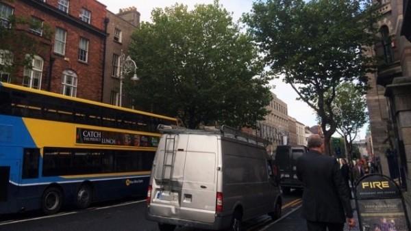 アイルランド、ダブリンの街並み