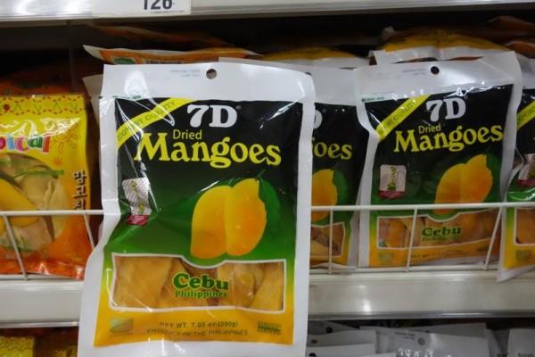 フィリピンのドライマンゴー