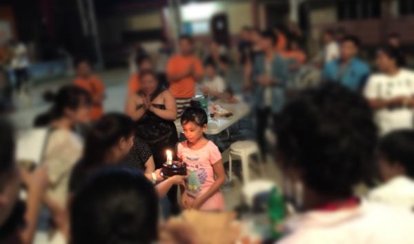 フィリピン親子留学中の出来事