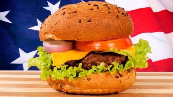 ハンバーガー (hamburger)