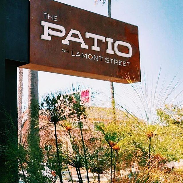 サンディエゴ カフェ The Patio on Lamont Street(ザ・パティオ・ラモント・ストリート)