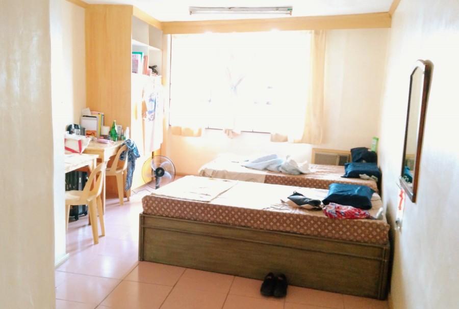 フィリピン留学中に滞在していた部屋