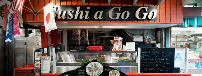 ロサンゼルス レストラン Sushi A Go Go(スシ ア ゴー ゴー)
