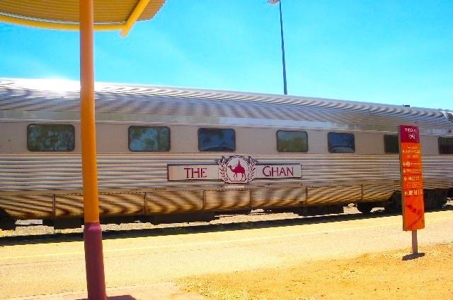 オーストラリアの大陸縦断鉄道「The Ghan」