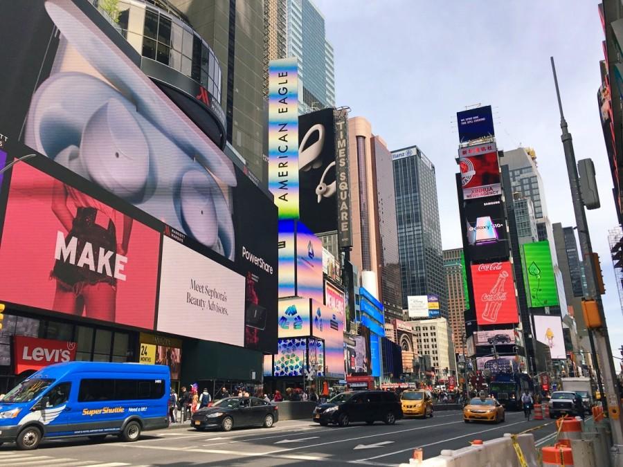 ニューヨークの様子