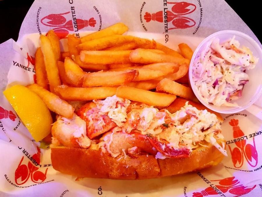 ボストン レストラン Yankee Lobster Fish Market(ヤンキーロブスターフィッシュマーケット)