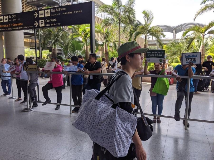 セブ空港のピックアップ
