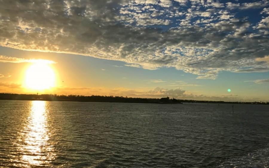 モートン島の夕日