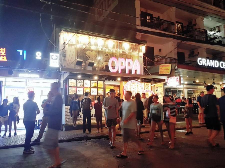 クラーク レストラン Oppa Korean Restaurant