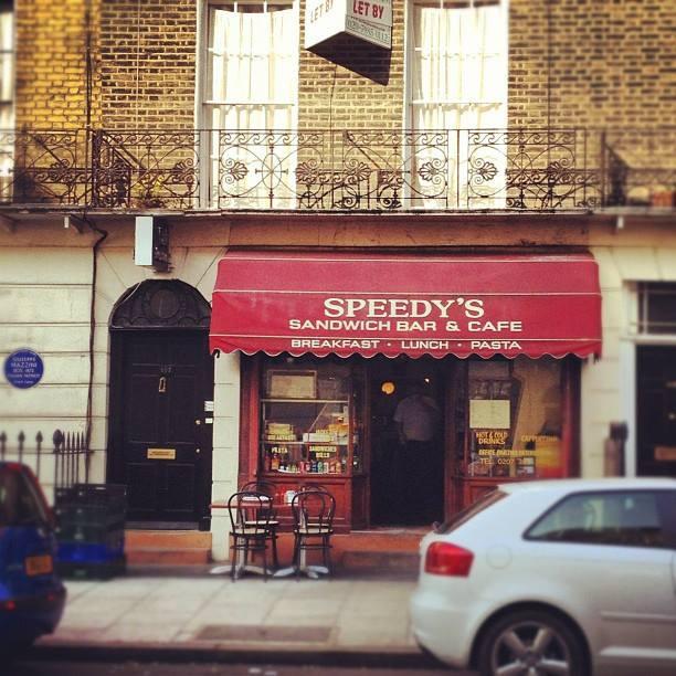 Speedy's Sandwich Bar & Cafe(スピーディーズ・サンドイッチバー・アンド・カフェ)