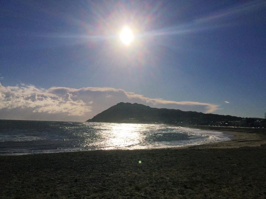 海岸とブレイ・ヘッド