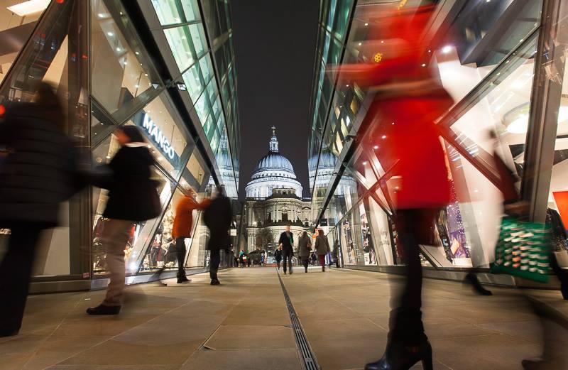 ロンドン ショッピング