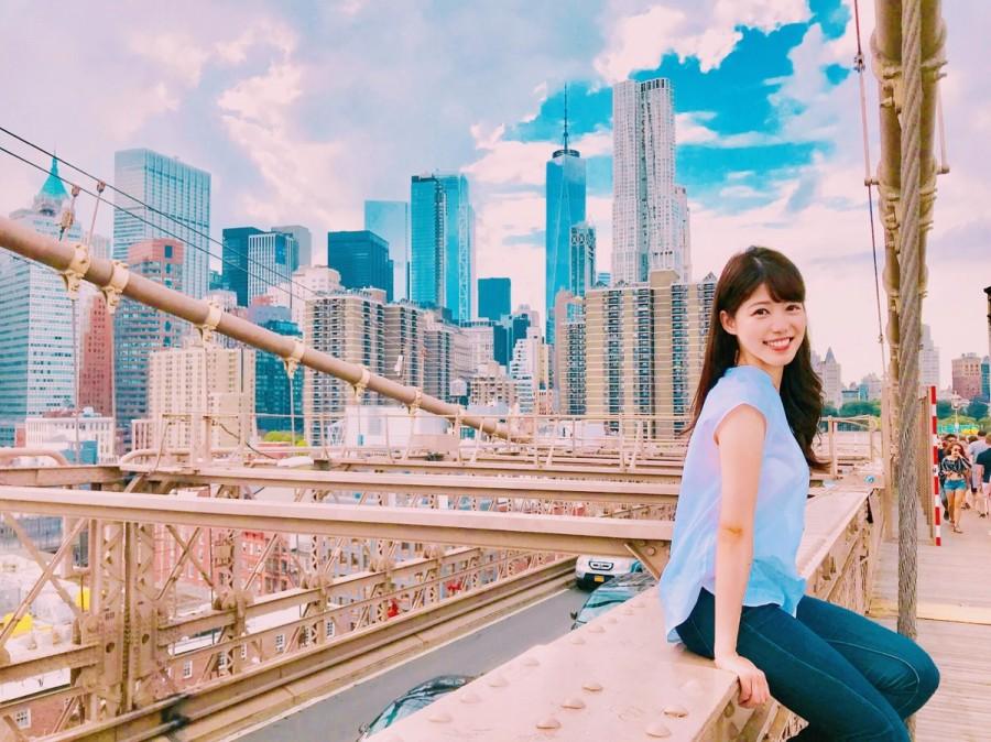 ニューヨークでの留学中の様子