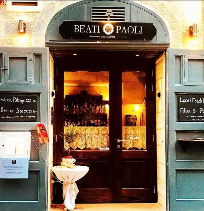 バレッタ レストラン Beati Paoli Restaurant