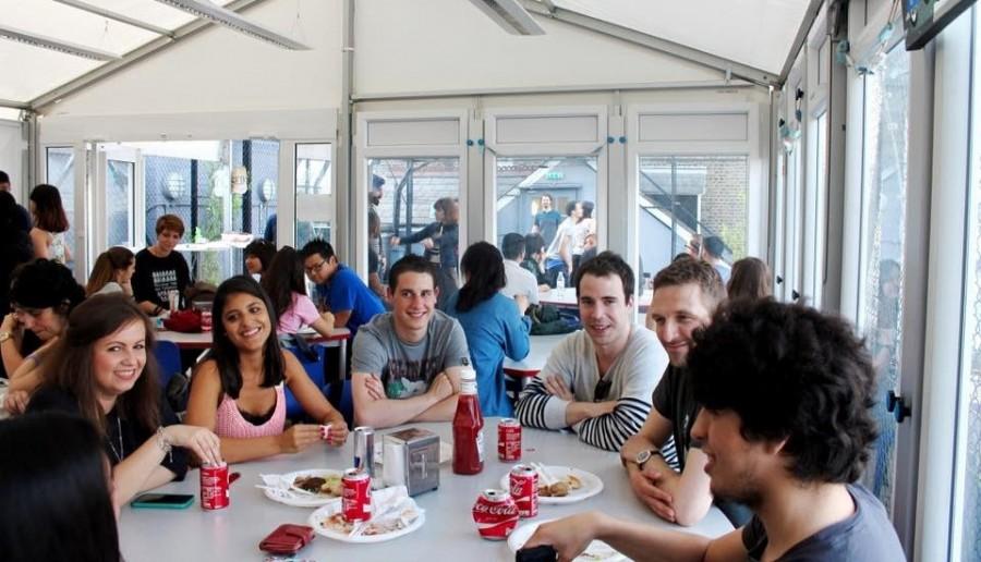 Oxford House College, Londonのラウンジ