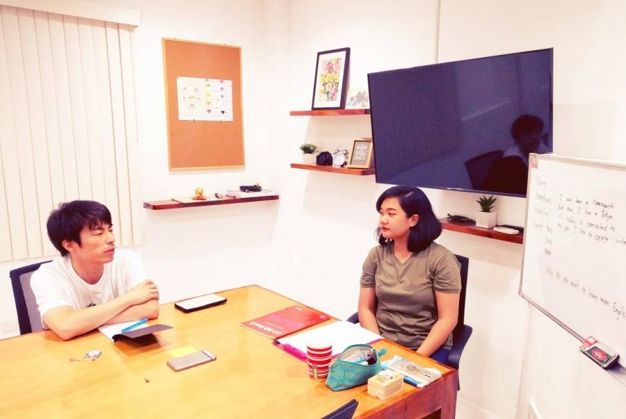ロンブー田村淳がフィリピン留学withフィリピン英語講師