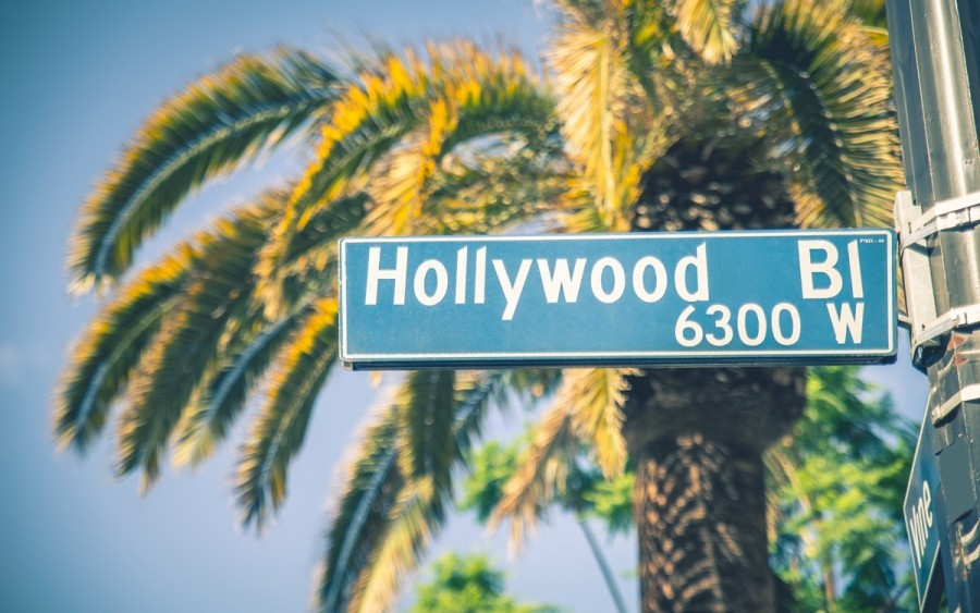 アメリカ・ロサンゼルスのハリウッド