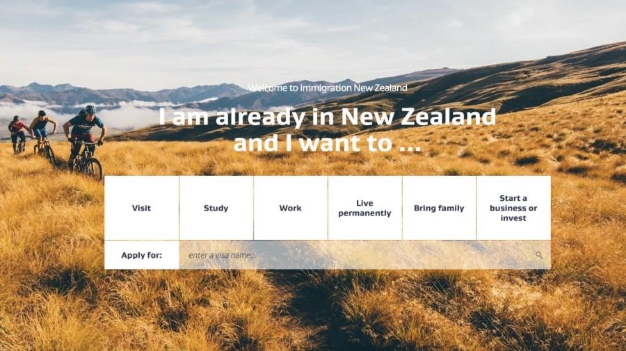 ニュージーランド移民局公式サイト