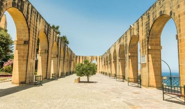 マルタ,観光, アッパーバラッカ ガーデン