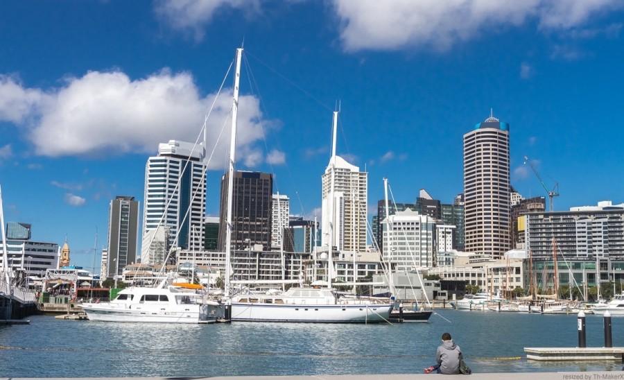 ニュージーランド・オークランドの景色