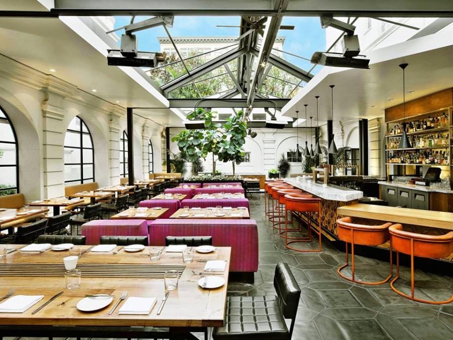 ロサンゼルス レストラン Redbird